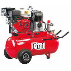 Fini MK103-100-5.5S HONDA Компрессор бензиновый поршневой Fini Бензиновые Передвижные